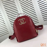 Fashion Pop Mosaic colored diamond Fashion Backpack 22-23-14cm