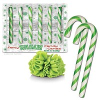 Wasabi Flavored Candy Canes