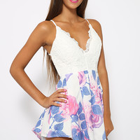 Primrose Bliss Playsuit - Floral