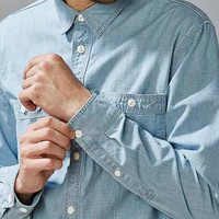 CPO Crosshatch Chambray Button-Down Shirt