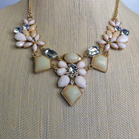 Shabby Chic Statement Necklace