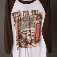 """Gina """"Here for the Rodeo"""" Tee"""