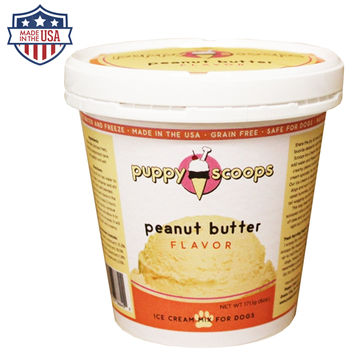 Puppy Scoops Ice Cream Mix - Peanut Butter Flavor