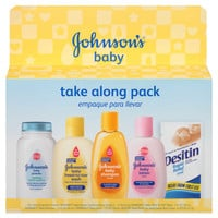 Johnson's® Baby Take Along Trial Pack