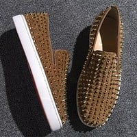 Christian Louboutin CL Flat Style #701 Online