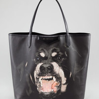Givenchy Antigona Rottweiler Tote Bag, Medium
