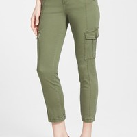 Women's KUT from the Kloth Stretch Ankle Cargo Pants,