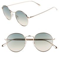 Tom Ford Ryan 52mm Round Sunglasses | Nordstrom