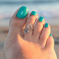 Beach Holiday Toe Rings Adjustable Tail Ring Gift-230