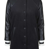 **Longline Bomber Jacket By Kendall + Kylie at Topshop - Topshop