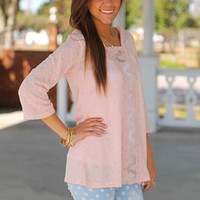 The Road To Lace Hoodie, Pink