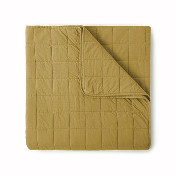 4 Square Honey Coverlet by Peacock Alley