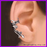 Vestal ear cuff earring for men and women Ancient by RingRingRing