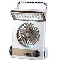 Solar Charging Camping Light With Light Multi-function Mini Fan Tent Lamp Table Lamp
