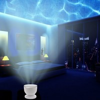 Abco Tech Ocean Wave Night Light Projector and Music Player