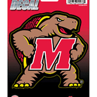 Maryland Terrapins 5x6 Vinyl Die Cut Decal Sticker Emblem University Of