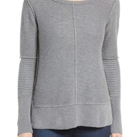 Michael Stars Ribbed Cotton Sweater | Nordstrom