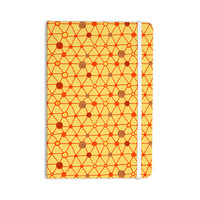 """Jane Smith """"Vintage Playground"""" Yellow Red Everything Notebook"""