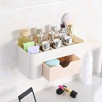 2018 Wall-mounted Makeup Cosmetic Case Beauty Artist Box Storage Tool Brushes Bag Organizer #0115