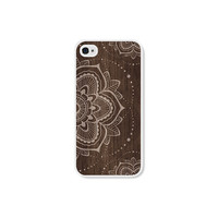 iPhone 5 Case - iPhone 5s Case iPhone 5c Case - Wood Mandala iPhone Case iPhone 5 Mandala Case iPhone 5c Wood Case iPhone 5c Mandala Case