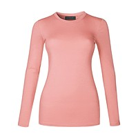 Fitted Round Neck Cotton Shirt (CLEARANCE)
