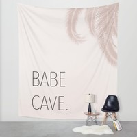 Babe Cave Wall Tapestry by Brittany