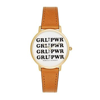 Rebecca Minkoff Major Grl Pwr Watch, 35mm