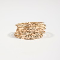Catbird :: First Knuckle Rings :: Twisted Stacker Ring
