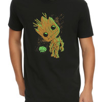 Funko Marvel Pop! Guardians Of The Galaxy Groot T-Shirt Hot Topic Exclusive