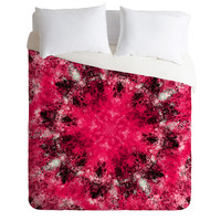 Caleb Troy Electric Pink Whirlpool Duvet Cover