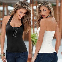 New Sexy Women Fashion Summer Vest Top Sleeveless Blouse Casual Tank Tops Shirt