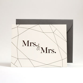 Wedding Collection: Mrs. & Mrs.