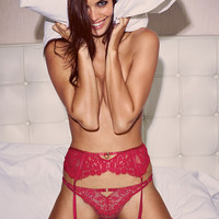 Lace & Fishnet Strappy Ring-back Thong - Very Sexy - Victoria's Secret