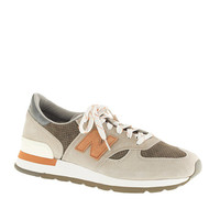 NEW BALANCE® FOR J.CREW 990 SNEAKERS IN COBBLESTONE