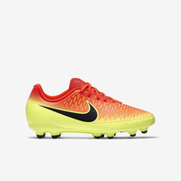 The Nike Jr. Magista Onda (10c-6y) Big Kids' Firm-Ground Soccer Cleat.