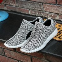 Unisex Gray Sports Running Shoes