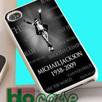 Michael Jackson For Iphone 4/4s, iPhone 5/5s, iPhone 5C, iphone 6, and iPhone 6 Plus Case
