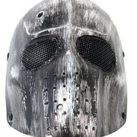 AMA Wire Mesh Tactical Army Bone Crusher Airsoft Full Face Mask