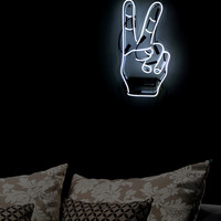 Oliver Gal Peace Neon Sign