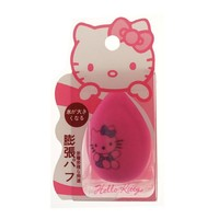 hello kitty sponge cosmetic puff Soaking water water drop shape hydrophilic kitty puff beauty makeup sponge esponja maquiagem