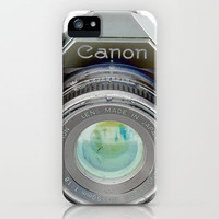 Old Canon AE-1 Camera iPhone Case by Casey VanderMeulen