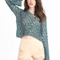 Tape Yarn Hoodie by Free People - $148.00 : ThreadSence.com, Your Spot For Indie Clothing & Indie Urban Culture