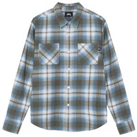 Adam Plaid Shirt in Olive