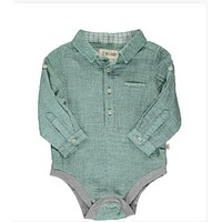 New Fall Me & Henry Green Gauze Woven Onesuit 100% Cotton