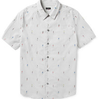 PS by Paul Smith - Printed Short-Sleeved Cotton Shirt   MR PORTER