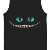 cheshire cat tank top for womens and mens