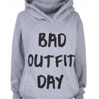 Bad Outfit Day Hoodie