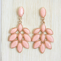 Peach Fall Earrings