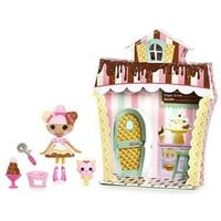 Lalaloopsy Mini Sweet Shop with Figure and Accessories Scoops Waffle Cone by MGA