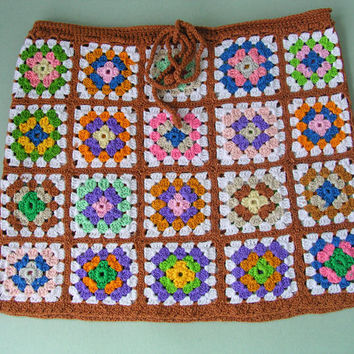 Girl Crochet Skirt